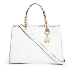 Michael Michael Kors 'Cynthia' medium saffiano leather satchel