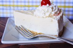 Vanilla Ice Cream Cheesecake