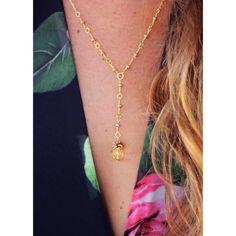 Paradise Pineapple Necklace  on Etsy, $17.00 Get this item @ our Etsy Shop: Etsy.com/shop/FreeToWanderDesigns & Instagram: FreeToWander #boho #beachjewelry #bohemianlife #gypsy #hippie #jewelry #accessories #bohemian #freetowander