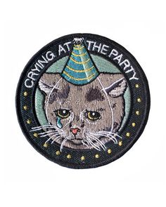 Crying At The Party Patch – Strange Ways - SOLD OUT