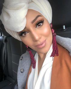 Turban Outfit, Hijab Outfit, Hijab Style, Turban Style, Kimono Fashion, Hijab Fashion, Fashion Outfits, Muslim Fashion, Modest Fashion