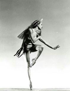 Maria Tallchief. First American Indian professional ballerina.