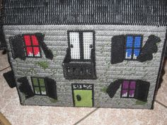 ye old spooky manor fold up traveling doll house by TagAlongToyZ on Etsy