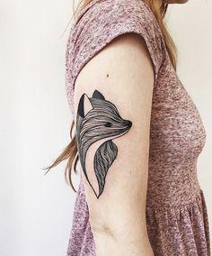 Fox Tattoo | Pinterest: heymercedes