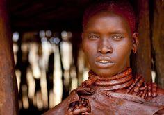 https://flic.kr/p/bnpvo6 | Utah girl in Hamer tribe - Ethiopia | This girl is…