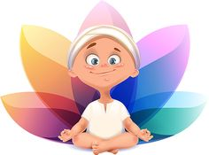 Baby yogi on Behance ★ Find more at http://www.pinterest.com/competing