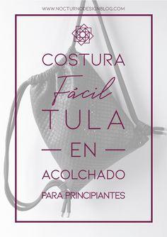 Tutorial de costura: Tula en acolchado. – Nocturno Design Blog Leather Bag Pattern, Design Blog, Petunias, Just Do It, Diy, Patches, Sewing, Creative, Ideas