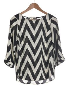 Chevron will always be one of our favorite prints.