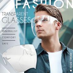 Fashion Transparent Glasses