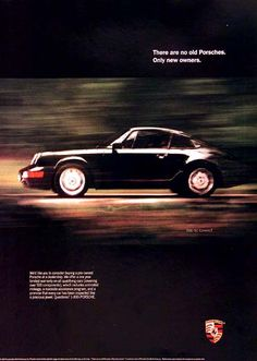 Porsche 911 (used models) ad