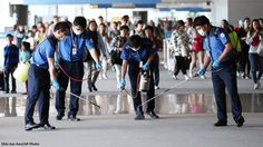 1,300+ people in quarantine as South Korea battles MERS virus: http://abcn.ws/1SWFf3A