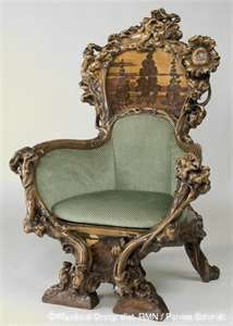 Marvelous Belle Epoque Antiques Ornate Chair.... If I Ever Get A Study Or