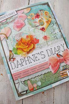 VIBEKE DESIGN: Vibeke Design i DAPHNE`S DIARY !