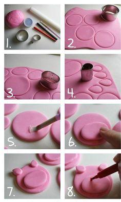DIY - Cupcake Porquinho Rosado