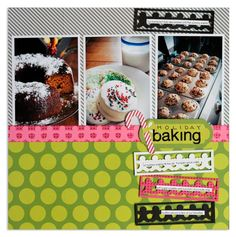 Holidazzle Gingerbread Chain Border Maker Project Idea from Creative Memories