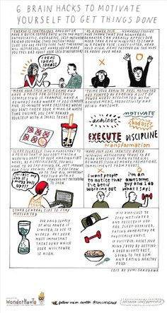 6 Brain Hacks That'll Help Motivate You into Getting Things Done « The Secret Yumiverse