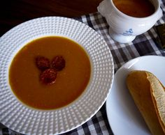 Roasted Butternut Squash and Chorizo Soup — How to be a Gourmand