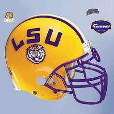 LSU Tigers Helmet, Fathead #pbteen