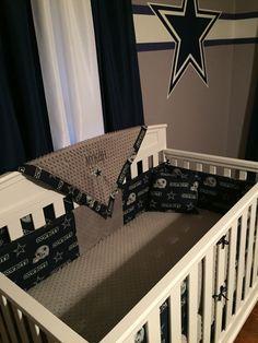 dallas cowboys baby nursery room designed by bedazzled baby kids