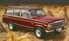 markets, Wagoneers were re-badged Cherokees. Note the Cherokee grille and trim with the Wagoneer badge. This was the final model year that Cherokees were Wagoneer clones, as they were redesigned on a smaller unibody chassis for Old Jeep, Jeep 4x4, Jeep Truck, Vintage Trucks, Old Trucks, Vintage Jeep, Lifted Trucks, Classic Trucks, Classic Cars