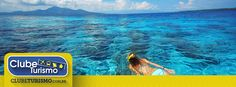 Formato 1200 x 444 pixels - IDEAL PARA ANÚNCIOS - CURTIDAS NA PÁGINA - Sugestão de texto: Curta a viagem dos seus sonhos com a Clube Turismo!