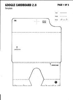 google cardboard vr pinterest google templates and virtual