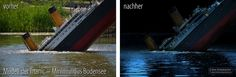 "Fotomontage ""Titanic"" » #Titanic #Minimundus #Photoshop #Adobe #Modellbau @Jörg Schumacher"