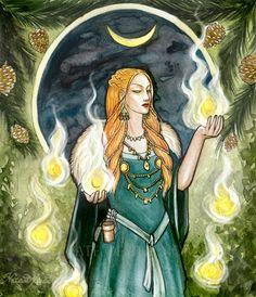 Laufey è la madre di Loki, consorte di Farbuti. - MEEY MYTHS -