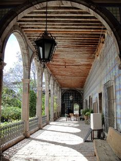 old world decor | Old World Style Balcony | For the Home