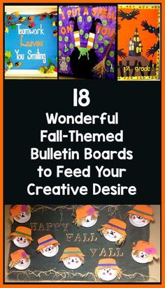 28 Awesome Autumn Bulletin Boards to Pumpkin Spice Up Your Classroom – Bored Teachers The Fall season is officially underway! Time to take down your Back-to-School decorations and replace them with some Autumn-themed fun. September Bulletin Boards, Kindergarten Bulletin Boards, Reading Bulletin Boards, Winter Bulletin Boards, Classroom Bulletin Boards, Classroom Ideas, Kindergarten Classroom, Boarders For Bulletin Boards, Fall Classroom Door