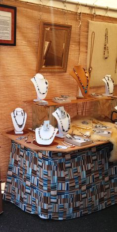 Craft fair displays for #jewelry vendors