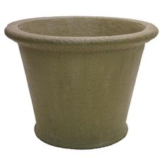 20-in H x 27-in W x 27-in D Desert Sand Concrete Outdoor Pot