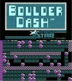 Boulder Dash (1984) on the Atari XL/XE