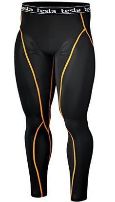 [Tesla] New Men's Compression Tights Under Leggings Base Layer Gear Wear Pants