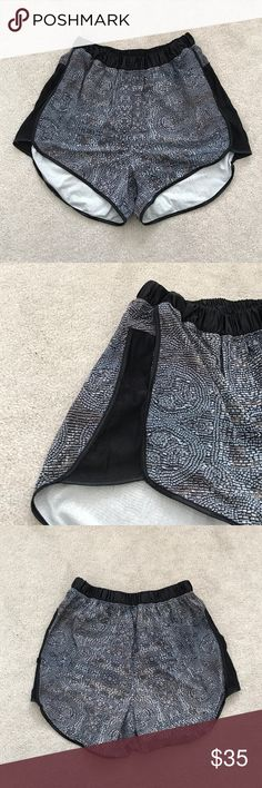 Lululemon. Beaded Sequin Print Shorts. Excellent condition!  🚫 no trades ✖️ no holds 🔵 offers considered through the offer button ♻️ if it's listed, it's available lululemon athletica Shorts