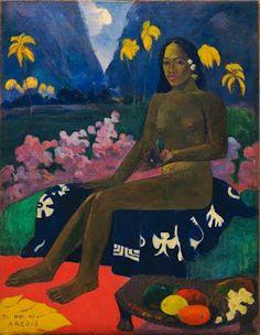 The Seed of Areoi - Paul Gaugin MoMA