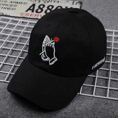 153480e21eb15 Fashion Embroidery Rose Caps Adjustable Cotton Hip Hop Polo Cap Snapback  Unisex Men Women Baseball Caps Egg Hat Casquette gorras