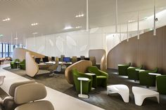 Air France Business Lounge at Charles de Gaulle airport | Brandimage  and Noé Duchaufour-Lawrance