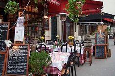 Restaurant rue Mouffetard à Paris