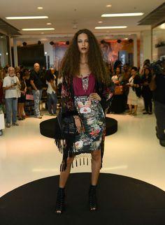 1º Dia do Barra Fashion Day - Outono/inverno2015. Tendência Boho Dark