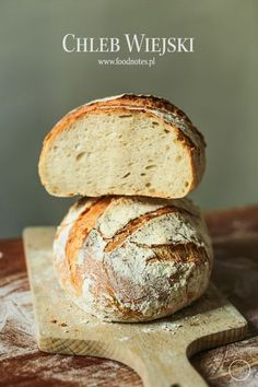 Foodnotes: Chleb wiejski Rye Bread Recipes, Healthy Bread Recipes, Cooking Recipes, Polish Bread Recipe, Polish Recipes, Brownie Recipes, Cake Recipes, Bread Bun, Sourdough Bread