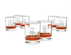 Uncommon Goods7 Deadly Sins Glasses,