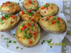 Ala piecze i gotuje: Ziemniaki zapiekane z serowym farszem