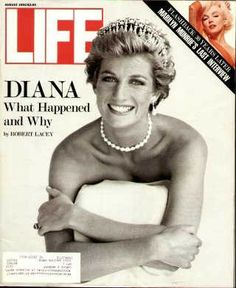 Life Magazine Cover: Princess Diana -- August 1992