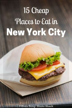 Do what the locals do and check out these 15 cheap places to eat in New York City. Foods range from pho to fried chicken, and are under $10.