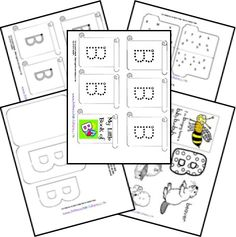 Free Alphabet Notebook Lapbook Letter B Preschool Letters, Preschool Kindergarten, Preschool Learning, Fun Learning, Preschool Ideas, Letter B Activities, Literacy Activities, Letter Of The Week, Learning The Alphabet