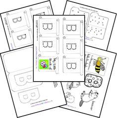 Free Alphabet Notebook Lapbook Letter B
