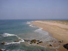 la grande plage Houat la pointe du Tal
