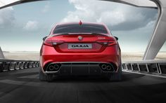 The all-new Giulia marks the rebirth of the Quadrifoglio, the symbol of the most legendary winning race cars in the history of Alfa Romeo.