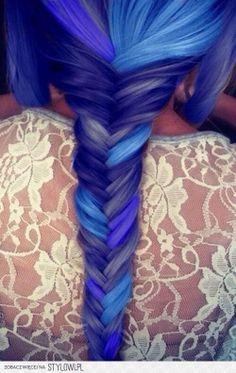 #blue braid